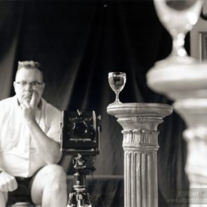 Self Portrait with Goblet, 2018