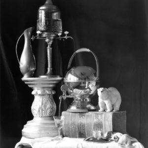 "2017. ""Still Life with Percolator, 2016"". ArtsIlliana Gallery, Terre Haute, Indiana, Juried by Rita Spalding"